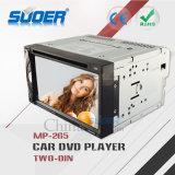Jogador de rádio do carro DVD do jogador de multimédios do veículo do RUÍDO de Suoer 2 com Bluetooth (MP-265)
