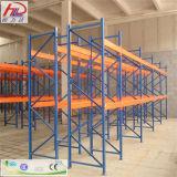 O espaço do standard alto conserva a cremalheira do aço do armazenamento