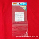 Do saco poli Resealable do Zipper do espaço livre do PE do auto saco plástico Ms-Lp041 do fechamento do fecho de correr