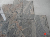 White/Black/Yellow/Multicolor/Grey naturais Granite para Tile, Slab