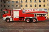 La lucha de fuego profesional de la turbina de aire de la fuente HOWO acarrea el coche de bomberos de la bomba de fuego con la altura del 16m-300m