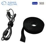 Il nero di nylon della cinghia della tessitura cucito largo pesante robusto dello strumento del rullo delle 10 yarde