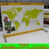 Exposição de alumínio modular portátil da parte superior de tabela do costume DIY
