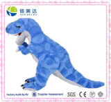 Blauw en Grijs Dinosaurus Gevuld Dier t-Rex