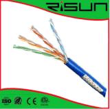 Cable de LAN del cable del ftp SFTP Cat5e de UTP/con alta calidad