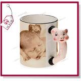Le singe mignon conçoit la tasse 3D en céramique pour la sublimation par Mejorsub