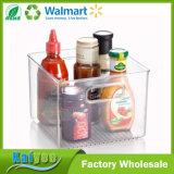organizador del almacenaje del refrigerador y de congelador del claro de los 30X10X10cm para la cocina
