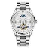 新式の自動方法ステンレス鋼の腕時計HlBg104