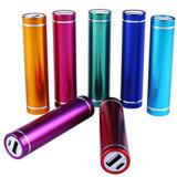 Batterij 2600mAh Li-IonenPowerbank van het Aluminium van Wholesales de Materiële voor iPhone & Androïde