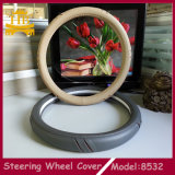 Tampa de roda especial da direção do carro do projeto PU+Wooden do universal 38cm