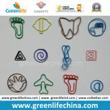 El animal Shaped de la insignia de encargo forma los buenos sujetadores de papel de los clips de papel