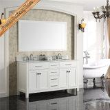 Vanidad de calidad superior del cuarto de baño de madera sólida de Fed-1986A