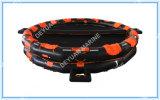 Tipo aberto Liferaft inflável reversível de 50 homens com padrão do SOLAS