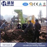 Diesel neuf, plate-forme de forage montée petite par remorque de la foreuse Hf360-6 pour l'empilage