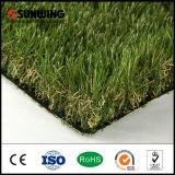 Tapete artificial barato Anti-UV da grama da decoração do jardim com GV