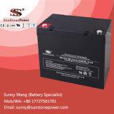 Bateria acidificada ao chumbo selada recarregável do UPS do AGM de 12V 55ah