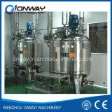 Mezcladora de mezcla inoxidable de la masilla del polvo del mezclador del mezclador del petróleo del tanque de la emulsificación de la chaqueta de acero del Pl