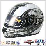涼しいパターン(FL122)が付いている太字のオートバイまたはモーターバイクのヘルメット