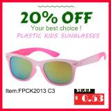 A forma nova projetou óculos de sol plásticos do frame para o miúdo