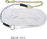 馬のトレーニングのための特別に長い綿の鉛ロープ