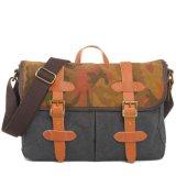 印刷のキャンバスの革人のハンドバッグのショルダー・バッグ(RS-1995A)