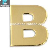 Pin relativo à promoção barato do Lapel da letra B do ouro dos artigos