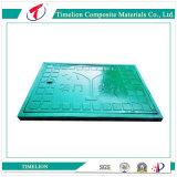 En124D400道のアプリケーションのための合成のガラス繊維の樹脂のマンホールカバー