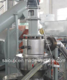 Riga pianta di pelletizzazione del granulatore di riciclaggio di plastica residua