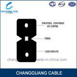 Cintrer-Type câble fibre optique d'intérieur de fournisseur de la Chine de câble optique de câble de fibre de Gjxh de catalogue des prix de câble d'interface allumant le câble de fibre optique par mètre