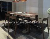 Самомоднейшее деревянное кожаный кресло ткани (C-22)