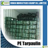 PE plástico impermeável ao ar livre Tarpailin com rolo UV de encerado do PE da folha de encerado do PE da tampa do tratamento