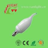 蝋燭のTailerの形CFL 9W (VLC-CDT-9W)、省エネランプ