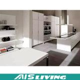普及した新しい着かれた食事の家具の白く旧式な食器棚(AIS-K975)