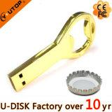 昇進のギフトの栓抜きのコルクせん抜きの金属USBのフラッシュ駆動機構