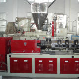 Extrusora de parafuso duplo de saída alta para folha de perfil de tubo de plástico