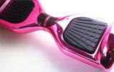 Heißer Verkauf 6.5 Zoll-Chrom-Farben-Selbstbalancierender Roller mit Cer FCC RoHS für Erwachsene