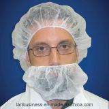 Tampa da barba dos PP/baixadas da barba/máscaras descartáveis materiais novas da barba