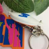 Qualität Mehrfarbenkundenspezifisches Silikon Keychain Belüftung-3D