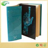 Impresión barata del libro de Hardcover del libro en rústica con la chaqueta (CKT-BK-002)