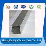 Vente chaude de pipe rectangulaire en aluminium d'enduit de 3003 poudres