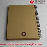Caderno espiral da promoção do livro de nota dos artigos de papelaria do estudante da escola