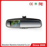 Monitor del espejo de coche del LCD de 4.3 pulgadas con la función de amortiguación auto