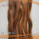Het blonde Gemengde Warme Bruine het Naaien van het Menselijke Haar van de Kleur Hand Gebonden Weft Weven van het Haar