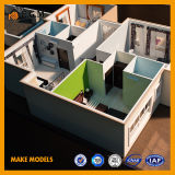 별장 모형 또는 국가 재산 모형 또는 별장 모형 또는 건물 모형