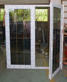 Kz311 puerta blanca del marco del perfil del color UPVC