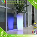 플라스틱 Illuminated LED Flower Vase 또는 Flower Pot 또는 정원 를 사용하는 Pot
