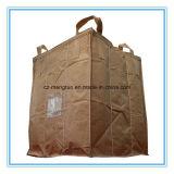 Sac superbe à sac de FIBC avec la cloison à l'intérieur pour des produits chimiques d'emballage