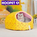Bed van het Hol van de Kat Sofe van het Huis van de hond en van de Kat het Leuke met Verwijderbaar Kussen