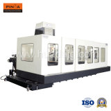 Bewegliche Spalte-Präzision horizontale CNC-Maschine für metallschneidendes Hh1812