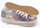 Donne Shoes Leisure Footwear con Hemp Rope Foxing (SNC-280018)